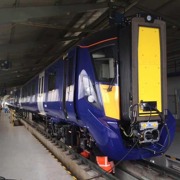 Testing Of The At200 Vehicles For Scotrail Deutsche Bahn Ag